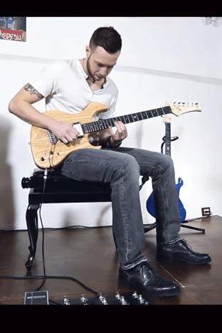 Amnesia Guitars-Daniele Ferro