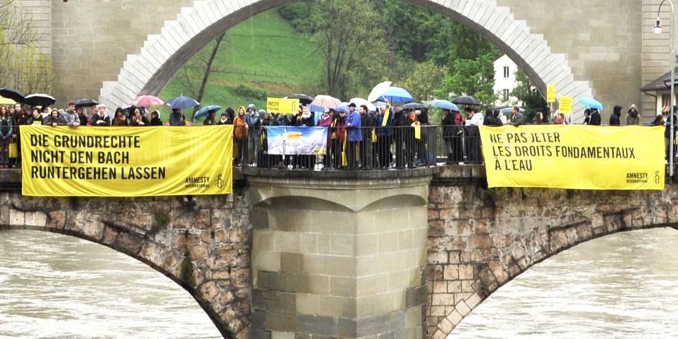 «Anti-Menschenrechtsinitiative»: ohne Zweifel abzulehnen
