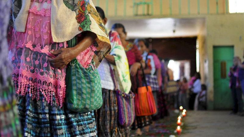 Frauen aus Sepur Zarco erlangten die Verurteilung der Verantwortlichen von Kriegsgräueln. Foto: Plaza Pública