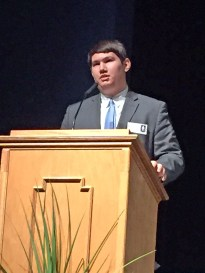 Photo submitted Danville High School Junior State of America President Billy Critchfield.