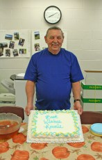 Kendra Peek/kendra.peek@amnews.com Ronnie Bottoms, beloved Perryville Elementary custodian, retires Wednesday after 21 years at the school.