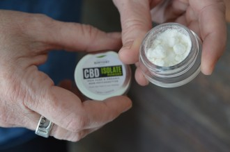 Isolate powder is pictured, a product sold by Noelker. Photo by Bobbie Curd.