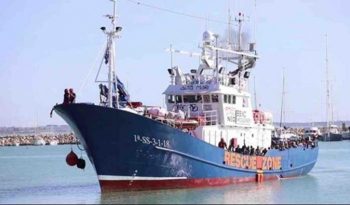 Nave Aita Mari con 36 migranti a bordo al largo delle coste siciliane -  AMnotizie.it - Quotidiano di informazione