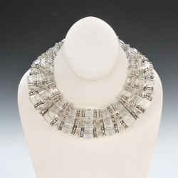 Faith Porter - Swarovski Crystal empress collar necklace1