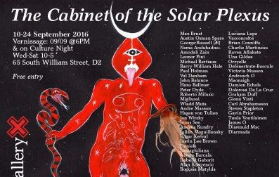 The Cabinet of the Solar Plexus – Landmark Exhibition in Dublin