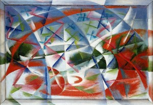Giacomo Balla - Abstract Speed + Sound (Velocità astratta + rumore)