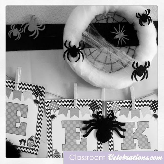 Classroom Celebrations: Celebrating Halloween with Spider Cat
