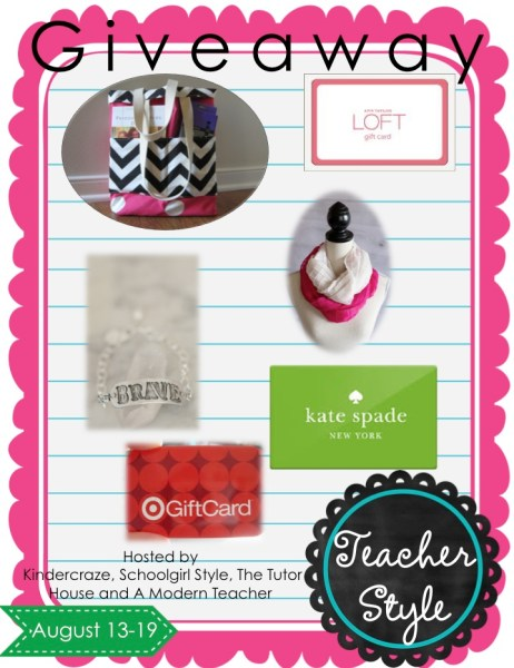 Teacher Style Giveaway 2014