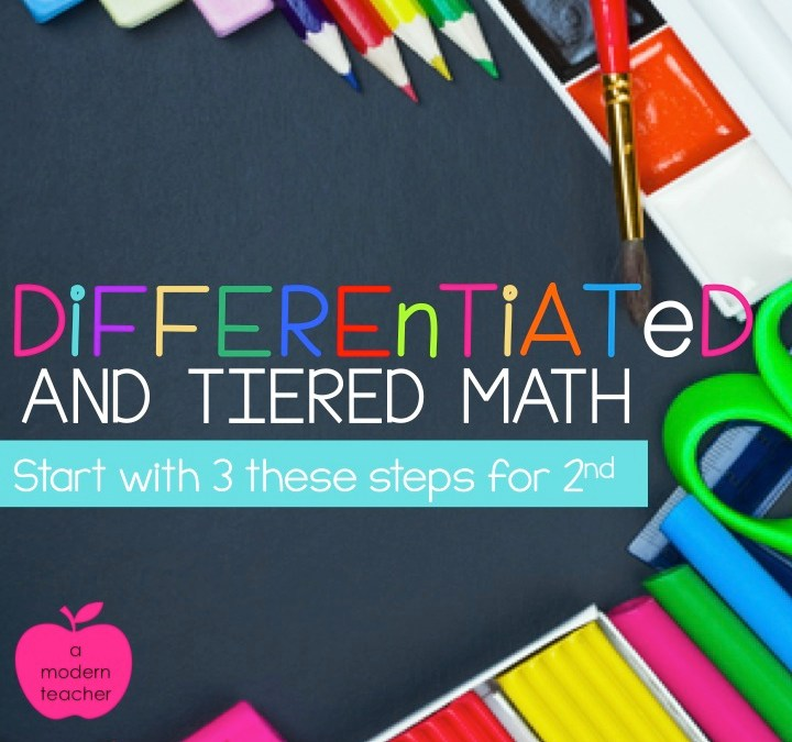 Differentiating Can Begin with these 3 Steps {and a Contest}