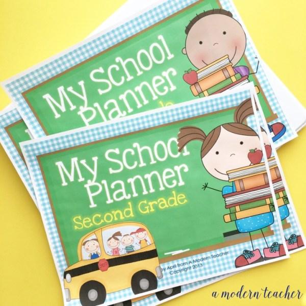 student binder student planner