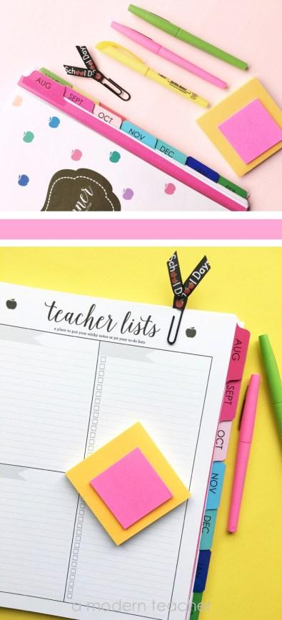 A Modern Teacher Lesson Planne