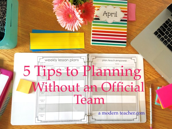 5 Tips to Lesson Planning