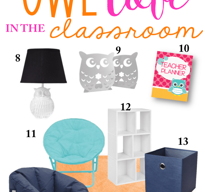 Planning Your Classroom: Owl Love Style!