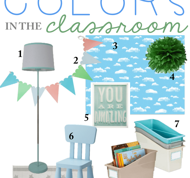 classroom planning calming colors in the classroom a modern teacher