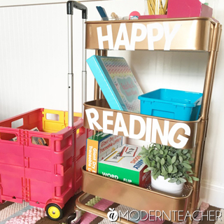Creating a Teacher Small Group Reading Cart