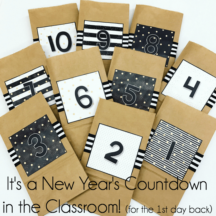 new year's in the classroom (January)