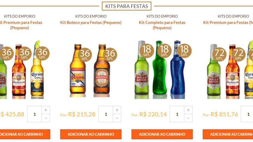 Kits de Cervejas para presente