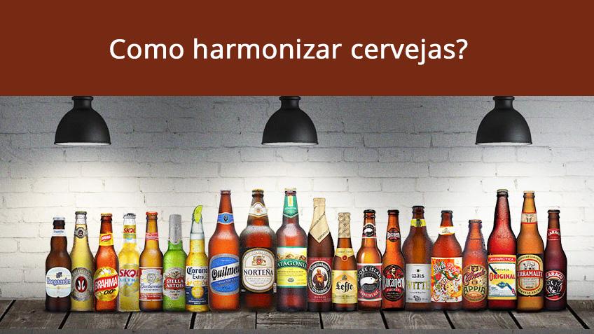 Como harmonizar cervejas?