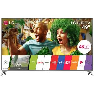 "Smart TV LG LED 49"" Ultra 4K HD 49UJ6525"