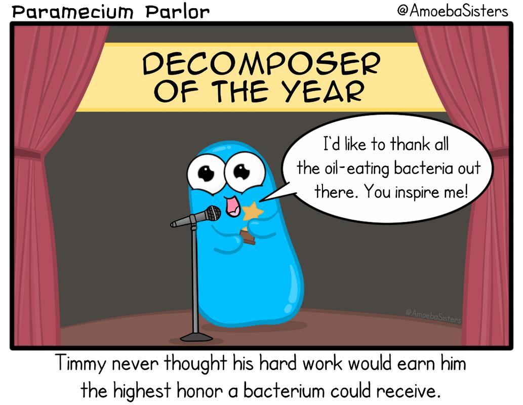 Paramecium Parlor Comics