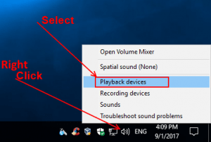 Open Playback Devices