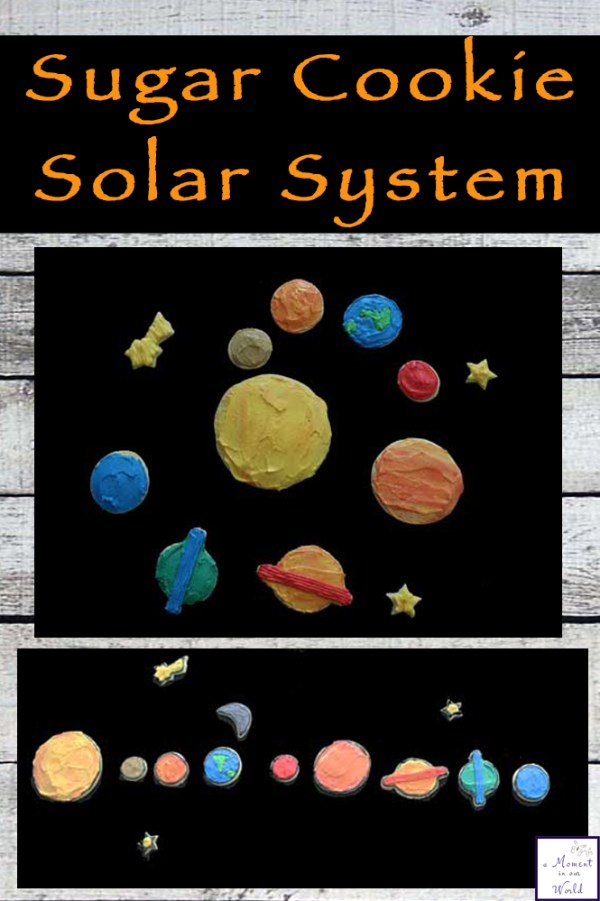 Sugar Cookie Solar System A Moment in our World