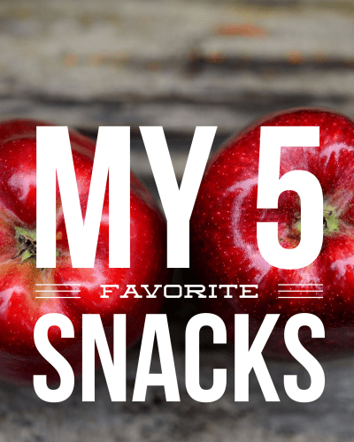 5 Favorite Snacks while at Work