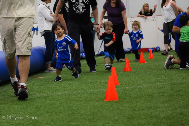 Toddler Soccer in Vacaville
