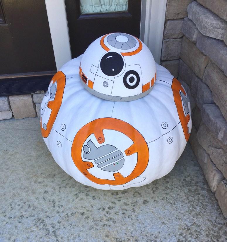 BB-8 Pumpkin