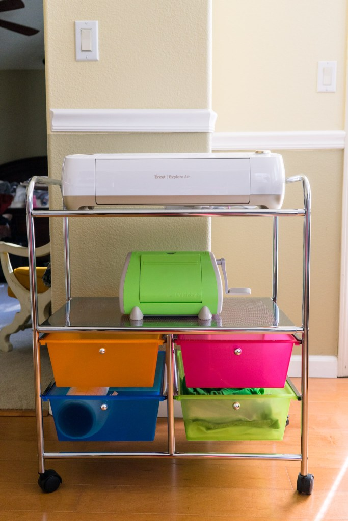Cricut Storage Cart