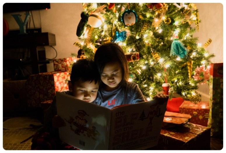 Elf on the shelf tradition
