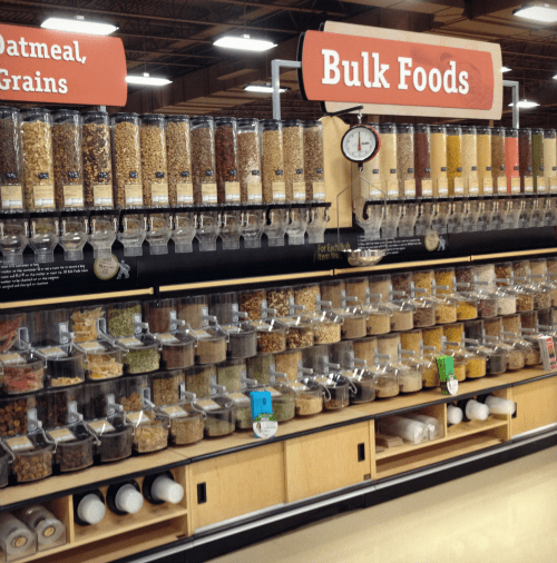 Bulk foods at Market District Dublin