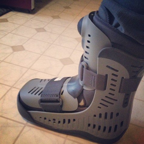 Injury boot
