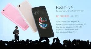 Xiaomi Redmi 5a Ponsel Murah dengan Spesifikasi Mewah