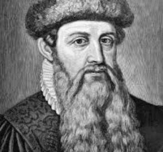 Biografi Johannes Gensfleisch Gutenberg Penemu Mesin Cetak dari Jerman