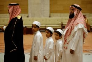 Pertunjukkan Seni Hiasi Perayaan Lebaran di Negara Arab Saudi