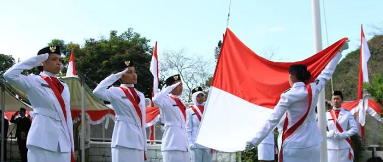 Susunan Upacara Bendera Peringatan HUT Kemerdekaan RI ke-73 Tahun 2018