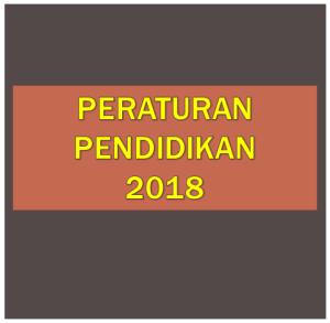 Download Kumpulan Peraturan Menteri Pendidikan Permendikbud Tahun 2018