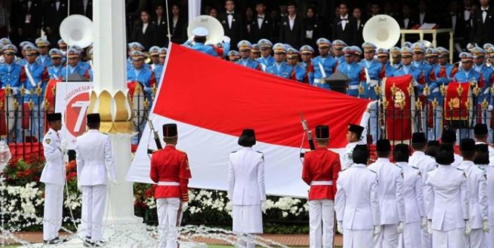 Download Naskah Pidato Sambutan dan Doa Upacara HUT ke 73 RI Tahun 2018