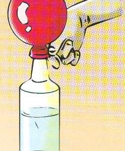 Percobaan Sains Sederhana Membuat Balon Mengembang Sendiri