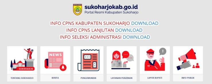 Jadwal dan Lokasi Tes Kompetensi Dasar CPNS Kabupaten Sukoharjo Tahun 2018