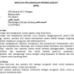 Download RPP Bahasa Arab Kelas 7 MTs Kurikulum 2013 K13