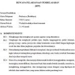 Download Silabus dan RPP Prakarya Kelas 8 SMP Kurikulum 2013