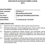 Download RPP Kelas 6 SD Kurikulum 2013 Edisi Revisi 2018 Semester 2