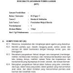 Download RPP Kelas 3 SD Kurikulum 2013 Edisi Revisi 2018