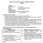 Download RPP Kelas 5 SD Kurikulum 2013 Edisi Revisi 2018 Semester 2
