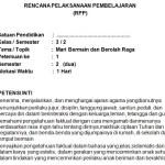 Download RPP Kelas 3 SD Kurikulum 2013 Edisi Revisi 2018 Tema 5