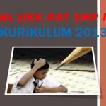 Soal UKK PAT IPS Kelas 8 SMP MTs Kurikulum 2013