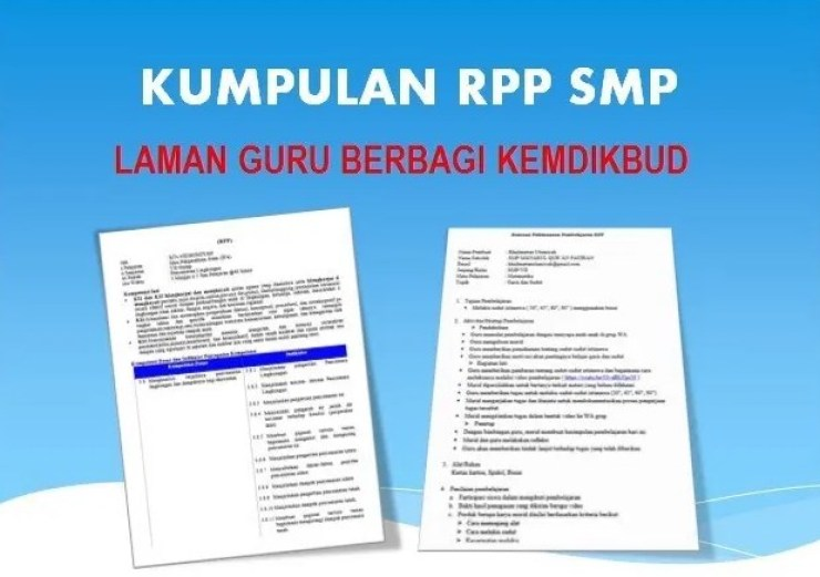 Rpp Pjj Bahasa Indonesia Kelas 9 Smp Laman Guru Berbagi Kemdikbud