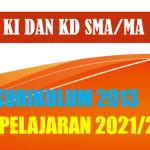 KI dan KD Bahasa Korea SMA MA K13 Tahun Pelajaran 2021/2022